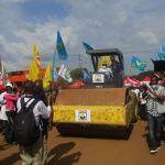 Butembo: l'autorité provinciale lance les travaux d'asphaltage de la rue Jérôme Masumbuko