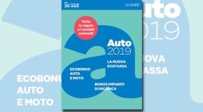"""""""Guida auto 2019"""" il focus del Sole 24 ORE in edicola oggi"""