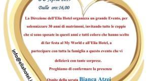 Elia Hotel, festa per i 30 anni di attività