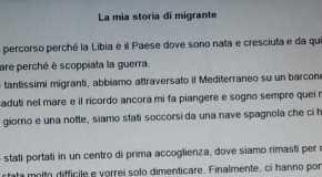 Najat, dalla Libia alla Campania: la sua odissea nella tesina