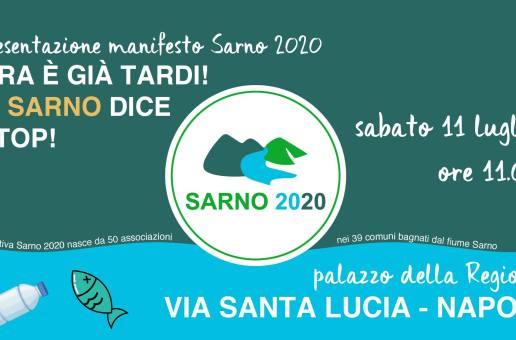 A Napoli per il disinquinamento del fiume Sarno