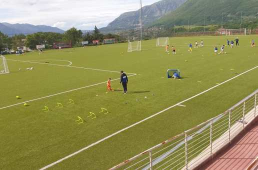Gemellaggio tra il Modena FC 2018 e l'Asd Atletico Palomonte 2014