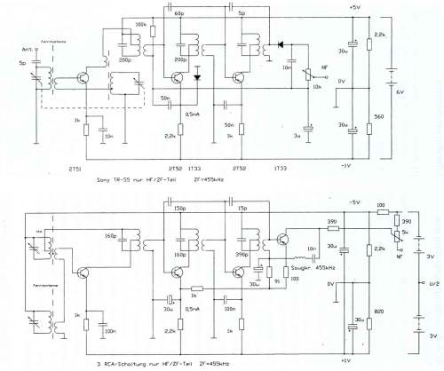 small resolution of schematic diagram of transistor radio