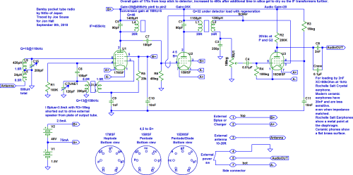 small resolution of i hand traced the circuit after some detective work to figure out the unknown tube pinouts