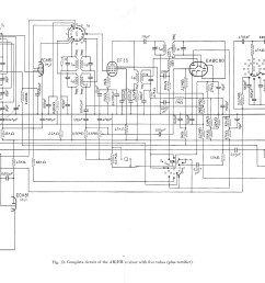 philps reference design of an am fm receiver from eab 1951 no longer using the eq80 but the eabc80 valve this was the ultimate 5 valve plus an ez40  [ 4600 x 2439 Pixel ]