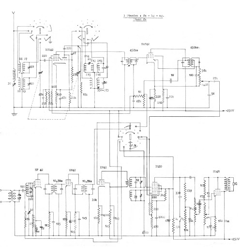 small resolution of  philips reference design of an am fm radio receiver found in the back of the earlier report on this topic by dammers and hooijmans