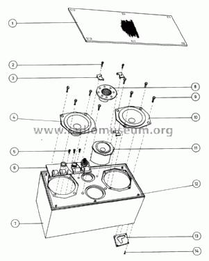 Beovox 4700 6234 Speaker-P Bang & Olufsen B& Struer, build
