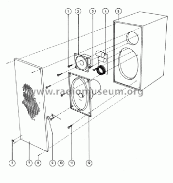 Beovox 600 6225 Speaker-P Bang & Olufsen B& Struer, build
