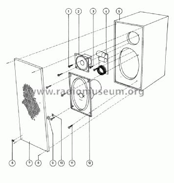 Beovox 600 6225 Speaker-P Bang & Olufsen B& Struer, build