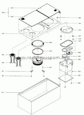 Beovox M 150 6412 Speaker-P Bang & Olufsen B& Struer, buil