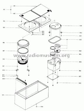 Beovox S 120 6413 Speaker-P Bang & Olufsen B& Struer, buil