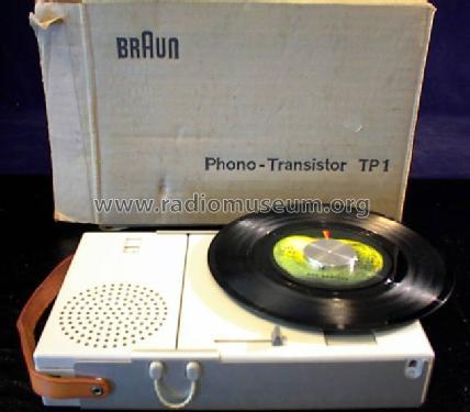 PhonoTransistorKombination TP1 Radio Braun Frankfurt
