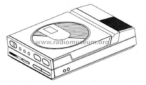 CD Player CDP50 R-Player Grundig Radio-Vertrieb, RVF, Radiow