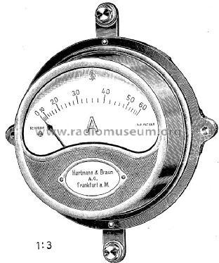 Gleichstrom-Amperemeter Tga Equipment Hartmann & Braun AG;