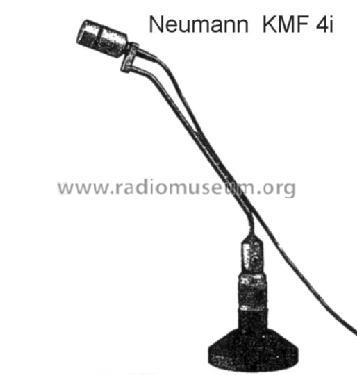 KMF4i Microphone/PU Neumann, Georg, Laboratorium für Elektro