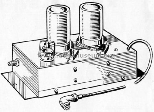 Pre-Amplifier RF-Ampl. Premier Radio Co. Ltd.; London, build