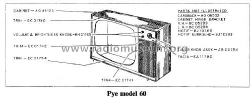 60 Television Pye Ltd., Radio Works; Cambridge, build