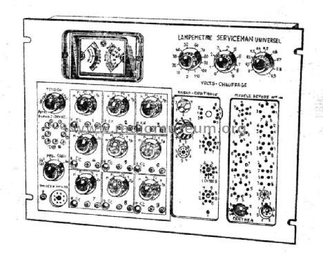 Lampemètre Serviceman Universel ter Equipment Radio-Contrôle