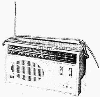 BX-385 Radio Sharp; Osaka, build 1965 ??, 1 pictures, 4 sche