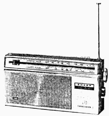 BX-516 Radio Sharp; Osaka, build 1965 ??, 9 pictures, 4 sche