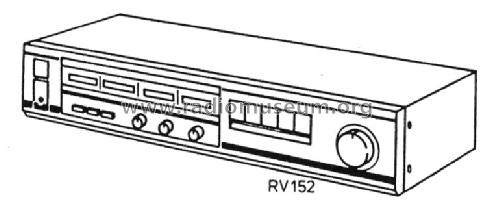 Stereoverstärker RV 152 Ampl/Mixer Siemens; D S.& Halske / S