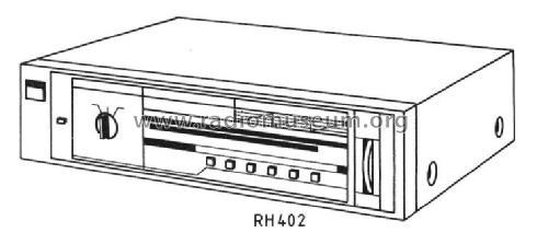 Tuner RH 402 Radio Siemens; D S.& Halske / S. Electrogeräte,