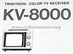 KV-8000 Television Sony; Tokyo, build 1977 ??, 1 pictures, 1