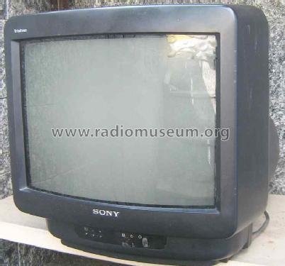 Ac Control Schematic Trinitron Colour Tv Kv M1400d Television Sony Corporation