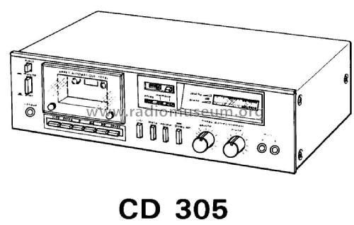 Cassette Deck Estereofónico CD-305 R-Player Thomson Española