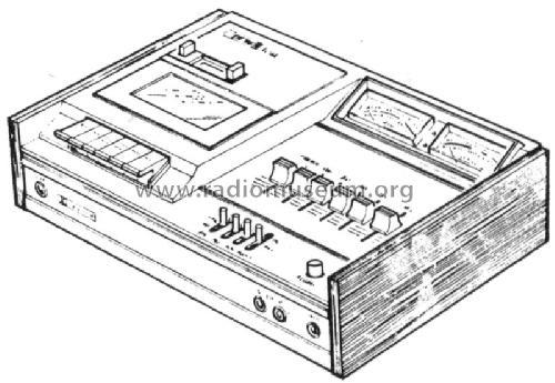 Ferguson HiFi stereo cassette deck 3273 R-Player Thorn Consu