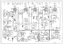 Airline 54WG-2700A Order= 62 C 2700 R Radio Montgomery Ward