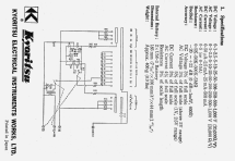 Multimeter KEW-6610 Equipment Kyoritsu Electrical Instrument
