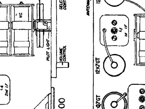 4000 Radio Air King Products Co.; Brooklyn NY, build 1940