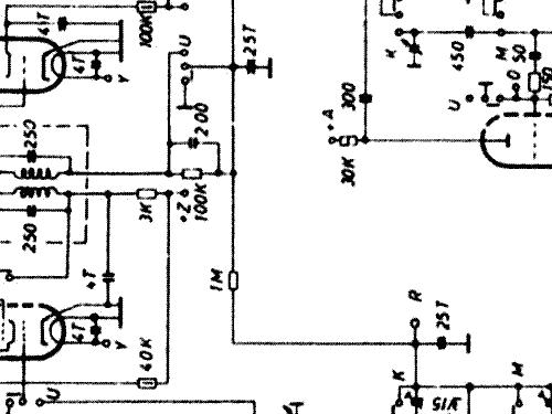 5722 Radio AJA-Electronic, build 1956, 1 schematics, 7 tubes