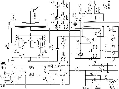 Gemini VI GS-15R Ampl/Mixer Ampeg Portaflex, build 1955