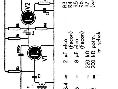 Transistor Signaalzoeker Kit Amroh NV Radio Bulletin monthly