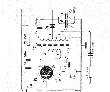 Transistor Tweekringer Kit Amroh NV Radio Bulletin monthly,