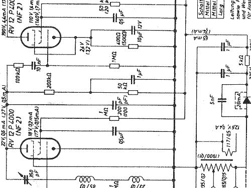 2W149EN Radio Blaupunkt Ideal, build 1949/1950, 1 schematics