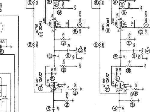 6538 Radio Channel Master Corp.; USA, build 1964 ?, 14 schem