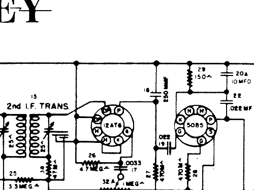 Wiring Diagram For 1952 Crosley Technics Wiring Diagram