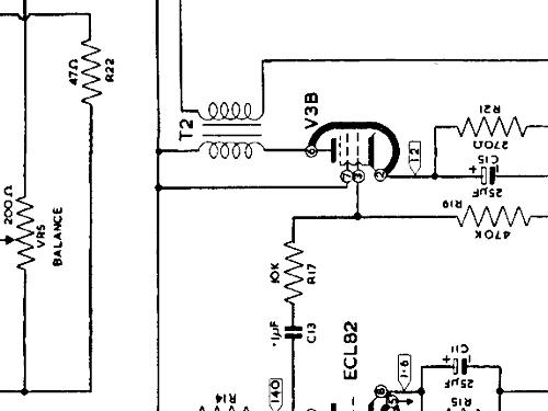 SG177 R-Player Decca, London, build 1958, 2 schematics, 4 tu