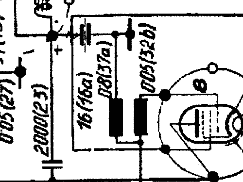 441V Radio Echo; Budapest, build 1941, 1 schematics, 6 tubes