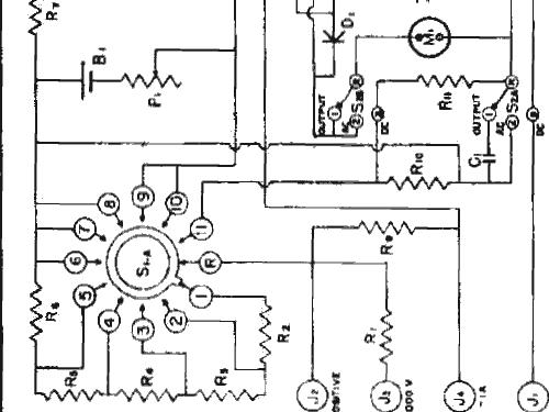 Analog Multimeter Drawing