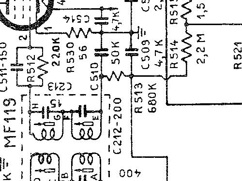 MF120 Radio Eterphon gruppo Italradio, build 1956/1957, 1 sc
