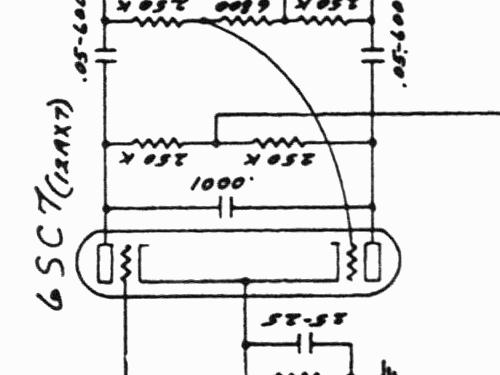 Super 5C4 Ampl/Mixer Fender Electric Instrument Co.; Fullert