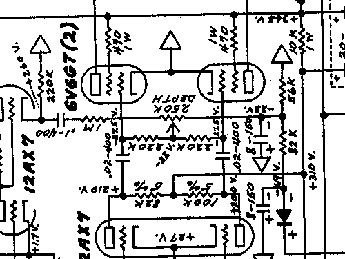 Tremolux 5G9 AMP Ampl/Mixer Fender Electric Instrument Co.;