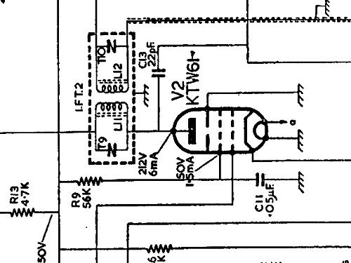 BC4940L Radio GEC, General Electric Co.; London, build