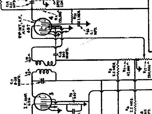 D52 Car Radio General Electric Co. GE; Bridgeport CT, Syracu