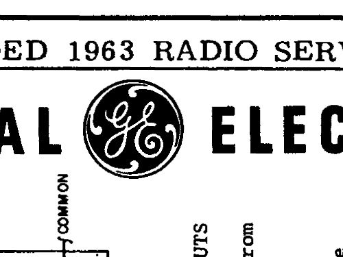 R315A Radio General Electric Co. GE; Bridgeport CT, Syracuse