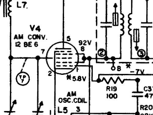 T245A Radio General Electric Co. GE; Bridgeport CT, Syracuse